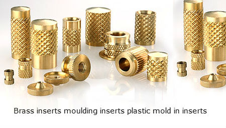 Brass inserts threaded plastic inserts Molding inserts