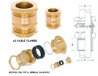 Brass A2 Cable glands