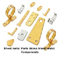 Brass Sheet Metal Parts Sheet Metal Components
