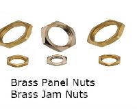 Panel Nuts Jam Nuts Brass