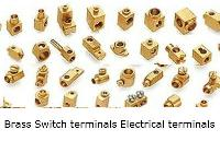 Switch terminals Brass terminals neutral earth terminals